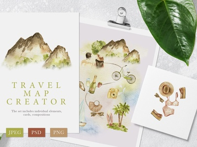 Travel Map Creator