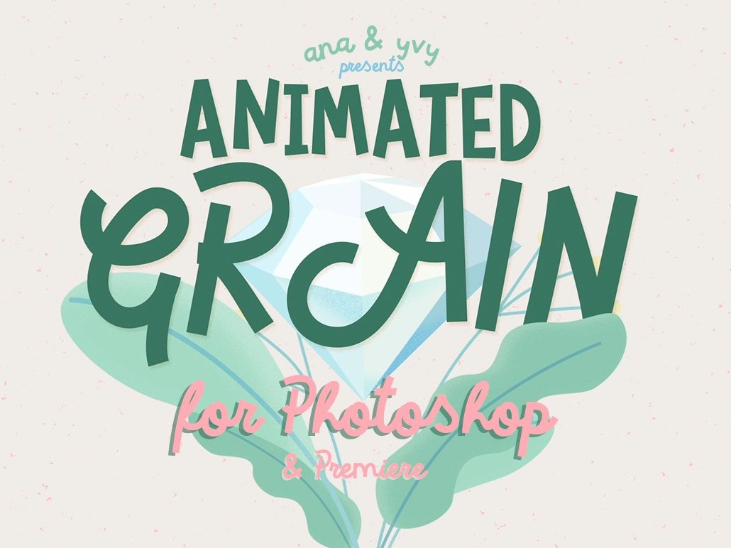 Animated GRAIN Texture for Photoshop by Graphics Collection