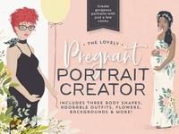 The lovely Pregnant Portrait Creator