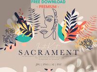 FREE Premium Download - Sacrament Insta Kit