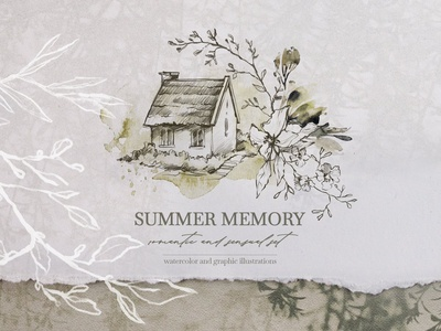 """SUMMER MEMORY"" Watercolor set"
