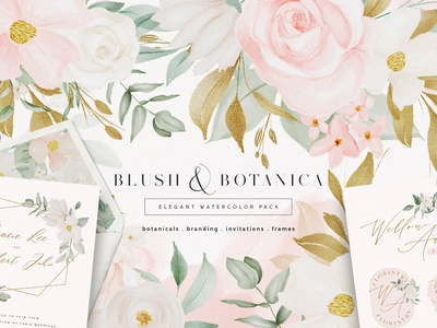 Blush & Botanica Floral Collection