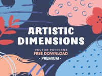FREE Download - Artistic Dimension Abstract Patterns