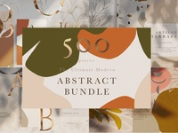 Modern Abstract Artistic Bundle