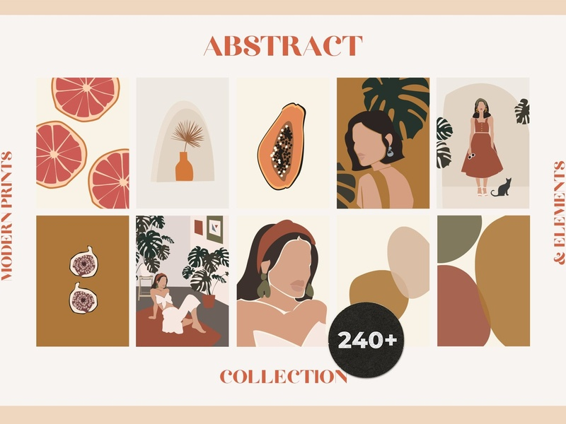 ABSTRACT Collection abstract design compositions print compositions prints print vector background design illustration abstract art abstract shape abstract shapes shapes womens portraits flyer poster design poster abstract collection abstract