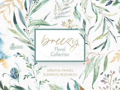 Breezy. Fresh Floral Collection