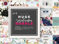 Watercolor Mega Bundle