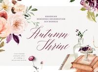 Autumn Shrine - Bohemian Seasonal