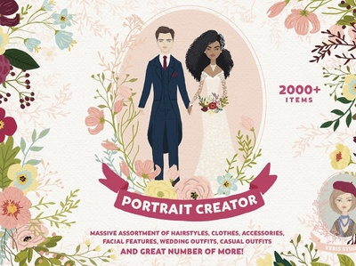 Customised Portrait Creator