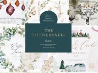 Winter & Christmas Graphics Bundle