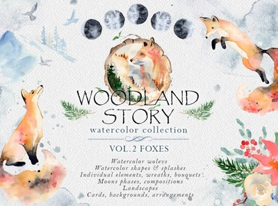 Woodland story Vol.2 Foxes