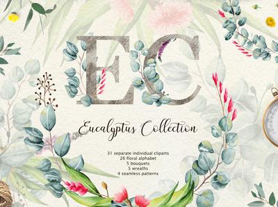 Eucalyptus Collection Letter
