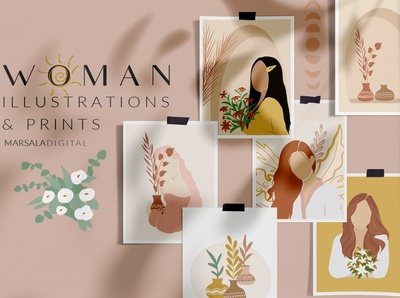 Women Prints & Illustrations Vol2
