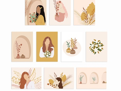 Women Prints & Illustrations Vol2 background art poster art poster a day poster design graphic design digital art women illustrations women illustration illustrations illustration prints printing print posters poster feminine womens women