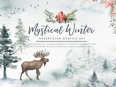 Mystical Winter Elements