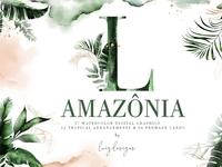 Amazonia (193 Elements Clipart)