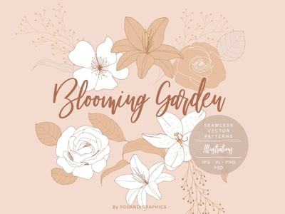 Blooming Garden Floral Patterns