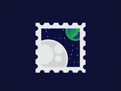 Moon design illustration vector