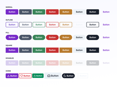 Release the buttons! button design system button design button ui