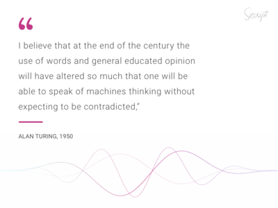 Alan Turing on AI