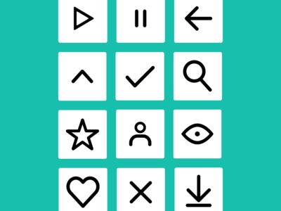 Basic UI Iconography