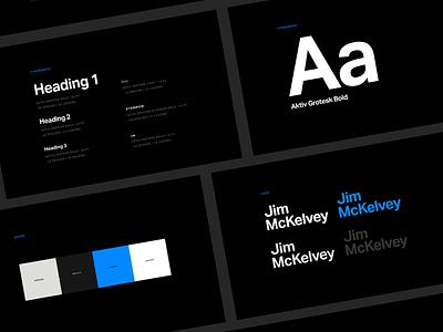 Jim McKelvey Website Guidelines ux website atomicdust design ui branding st. louis