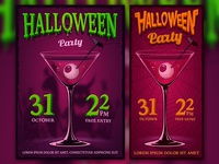 Design of Halloween posters