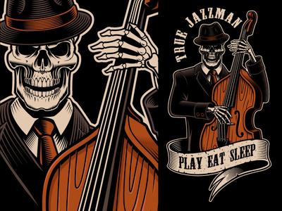 Jazz Skeleton