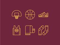 Basketball Icons 🏀