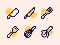 Kitchen Tool Icons