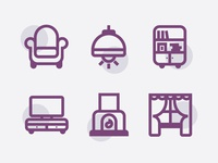 Living Room Icons