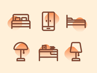 Bedroom Icons