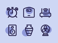Home Items Icons