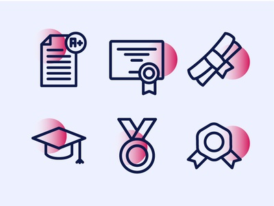 Back to School Education Icons 2