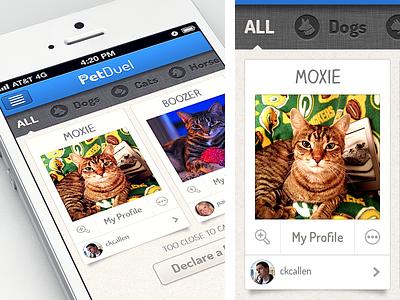 Download Petduel 1.1 petduel iphone app retina pets app store live download gif animation