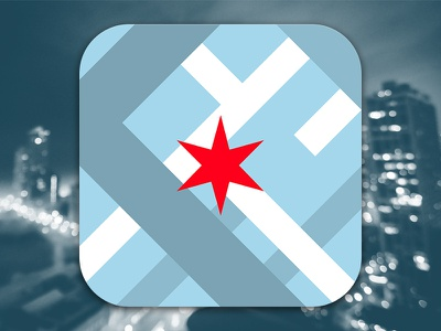 All Aboard Icon Concept all aboard ios app icon chicago