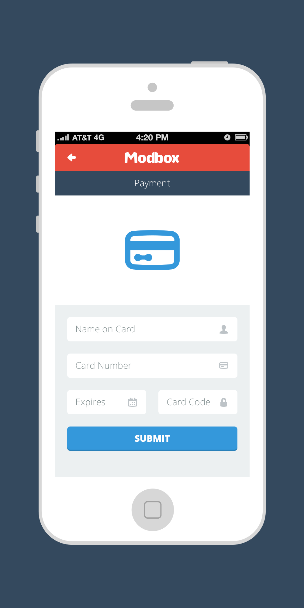 Modbox mobile payment nativeres