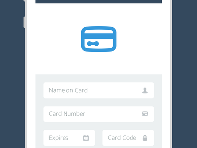 Modbox - Payment mobile flat design flat payment credit card form ios android