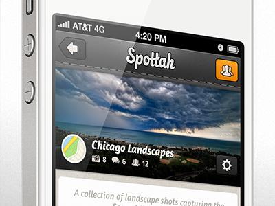 Spottah Album spottah iphone app photography