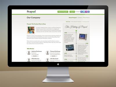 Peapod - Our Company