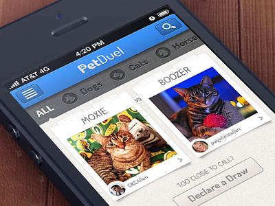 Download Petduel! petduel iphone app retina pets app store live download