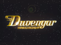 Duvengar factory lettering