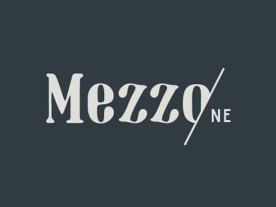 Mezzo Logo logo design branding