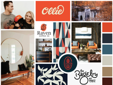 Branding Moodboard - easy-going