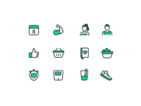 8fit icons