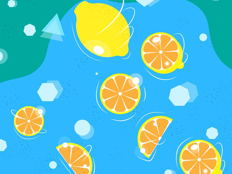 Lemons fruits fruit lemons lemon icon simple vector illustration flat design ai