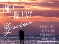 For the Coolest Grandmom in the World