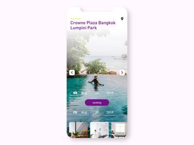 Booking dribbble ui app ui  ux concept branding conceptui design