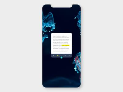 Notes Widget branding concept ui app ui  ux design conceptui