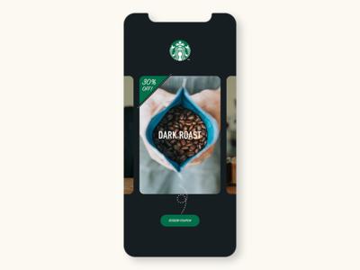 Coupon design conceptui branding ui  ux app ui